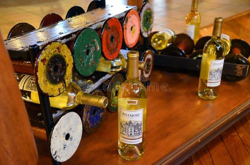 Établissement vinicole de domaine de Biltmore et jardins, Asheville OR image stock