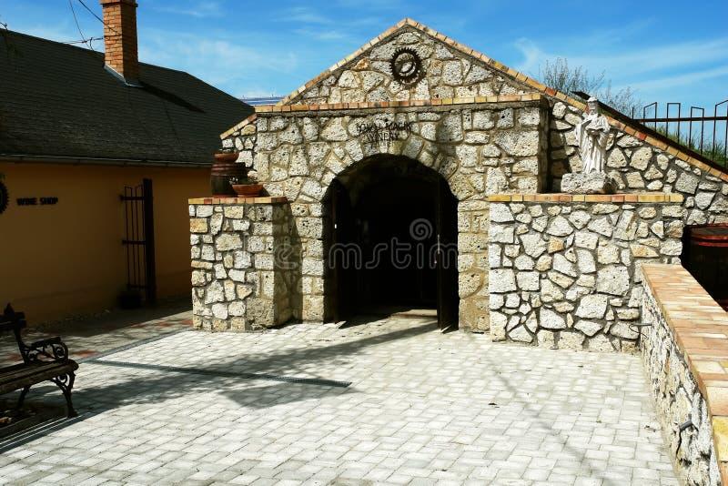 Établissement vinicole de Tokaj photographie stock