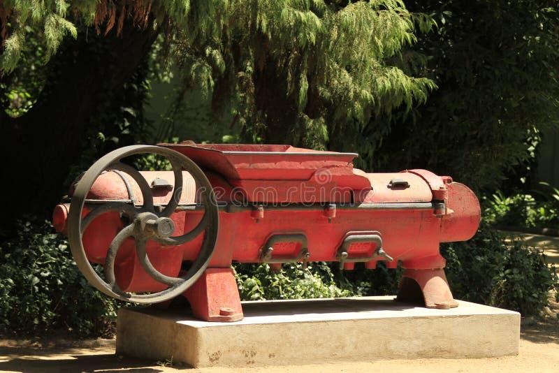 Établissement vinicole Santa Cruz Chile image stock