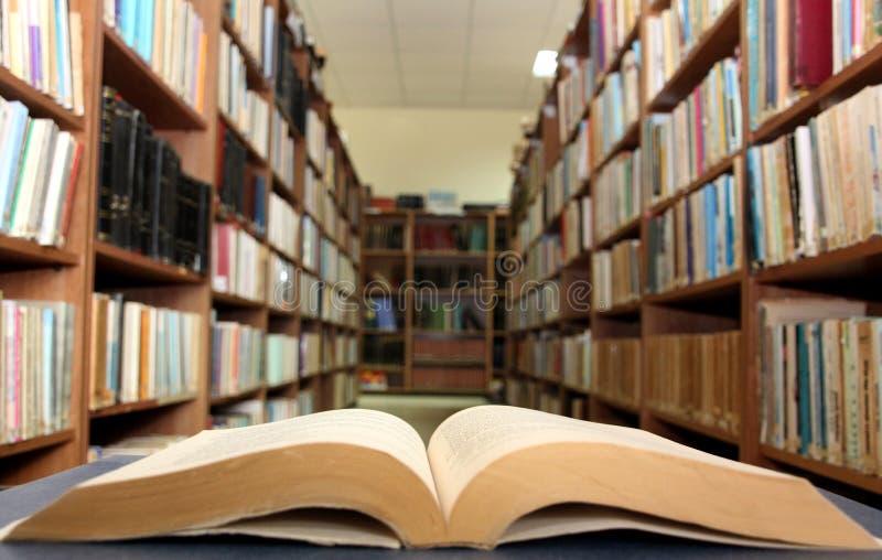 Étagères à livres photos libres de droits