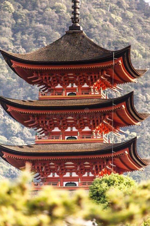 étage de cinq pagodas photos stock