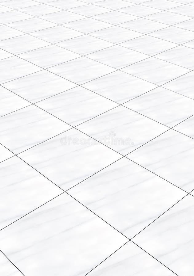 Étage de marbre illustration libre de droits