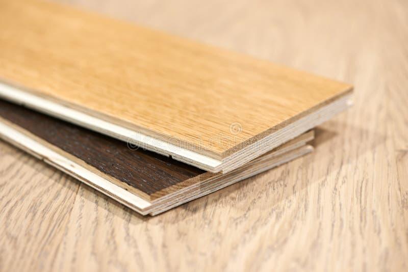 Étage en bois de parquet photographie stock