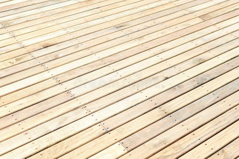 Étage en bois neuf image stock