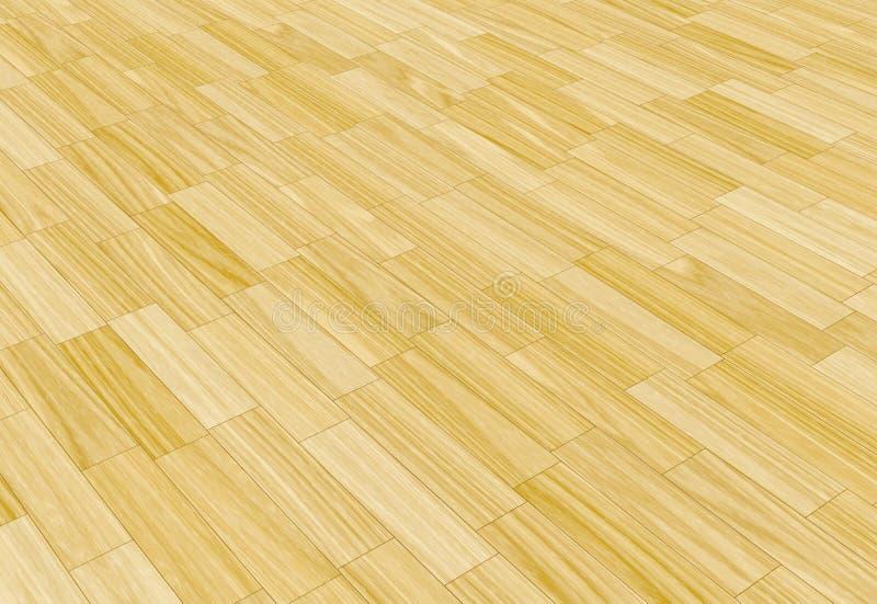 Étage en stratifié en bois illustration stock