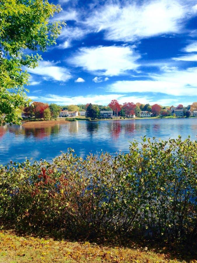 Étang dans Maine image libre de droits