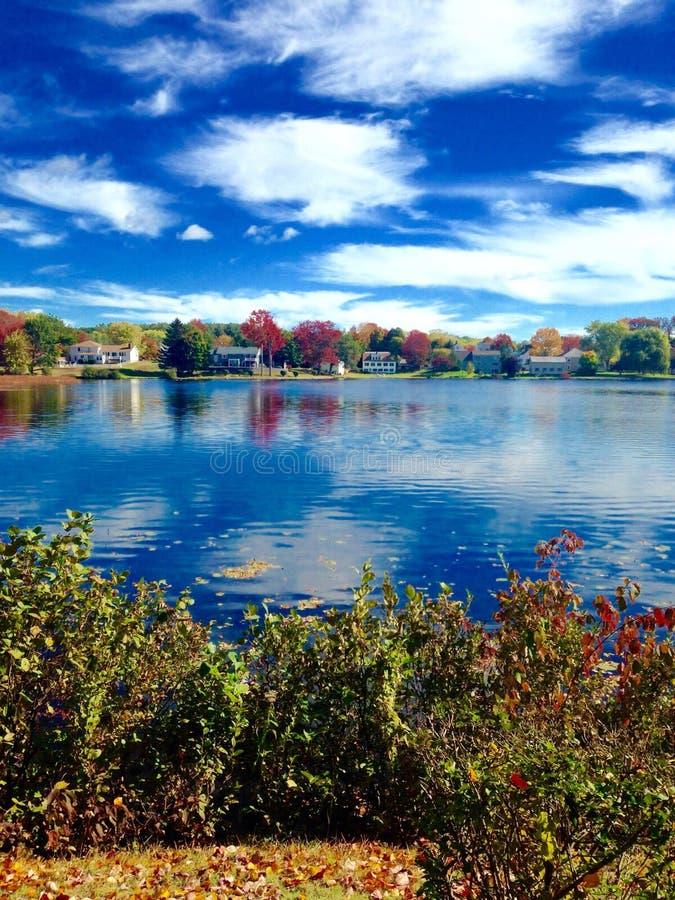 Étang dans Maine photos libres de droits
