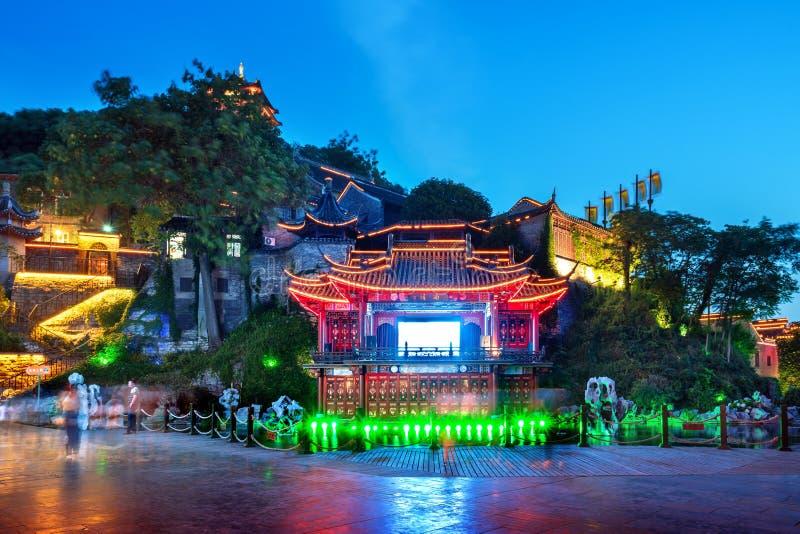 Étape antique à Zhenjiang, Chine photographie stock