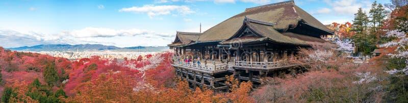 Étape de Kiyomizu-dera à Kyoto, Japon images libres de droits