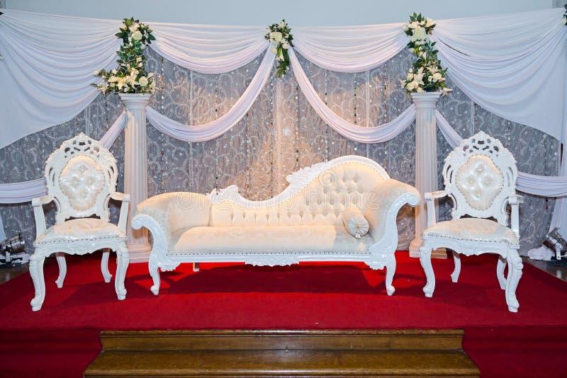 Étape de mariage image stock