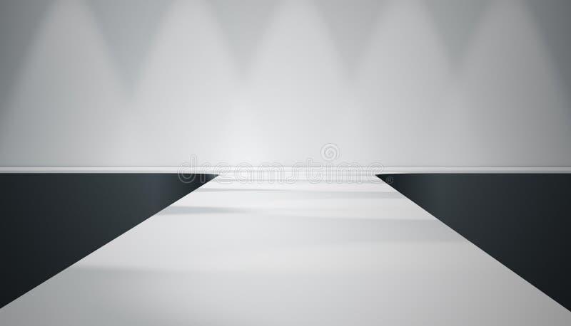 Étape de passerelle illustration de vecteur