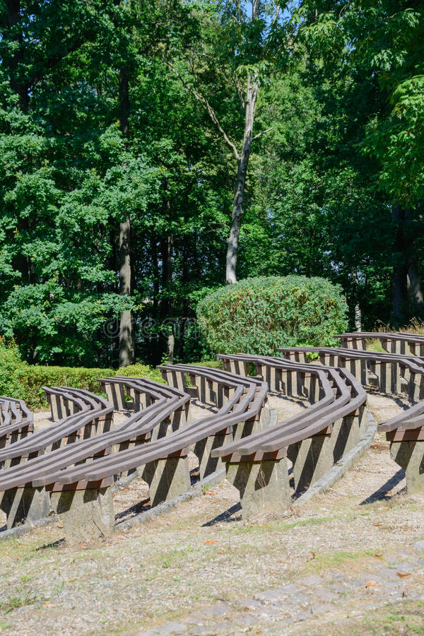 Download Étape Naturelle En Parc De Ville Image stock - Image du lames, arbres: 76081409