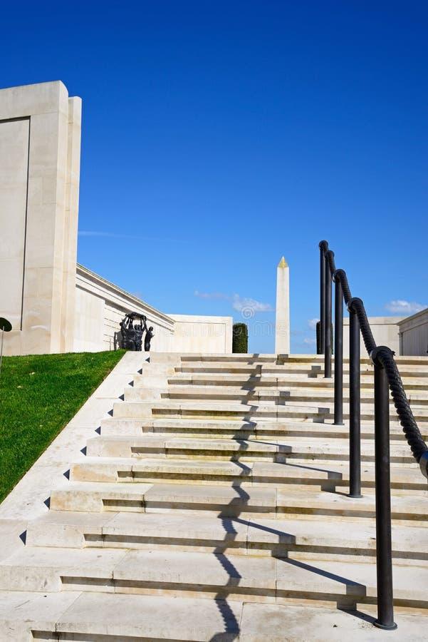 Étapes au mémorial de forces armées, Alrewas photographie stock libre de droits