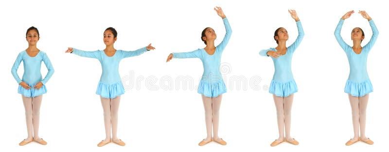 Étapes de ballet photographie stock libre de droits