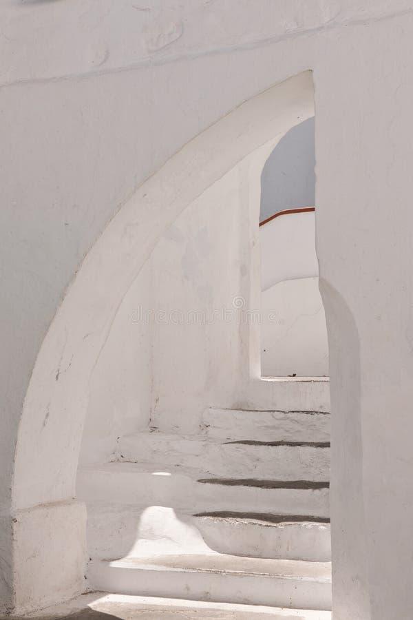 Étapes les les cellules de monastère photographie stock libre de droits
