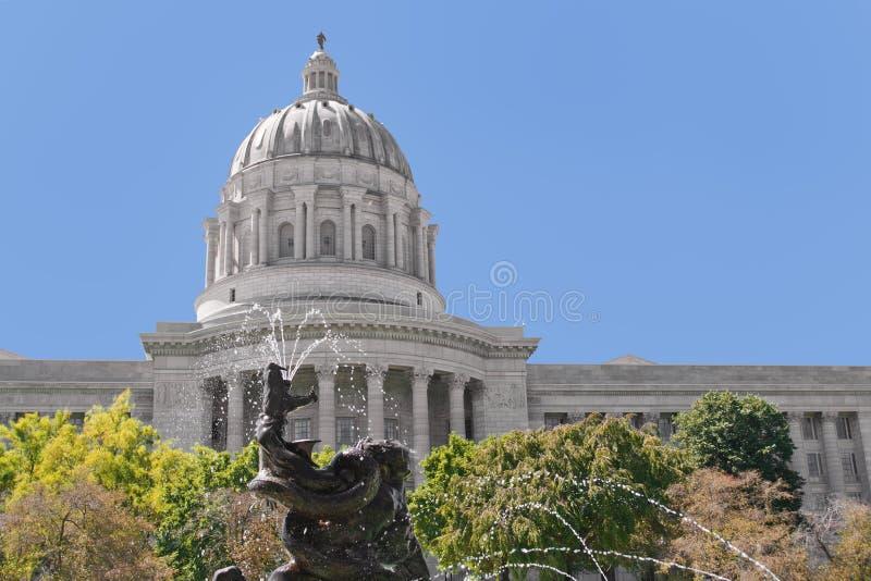 État Capatol du Missouri photos libres de droits