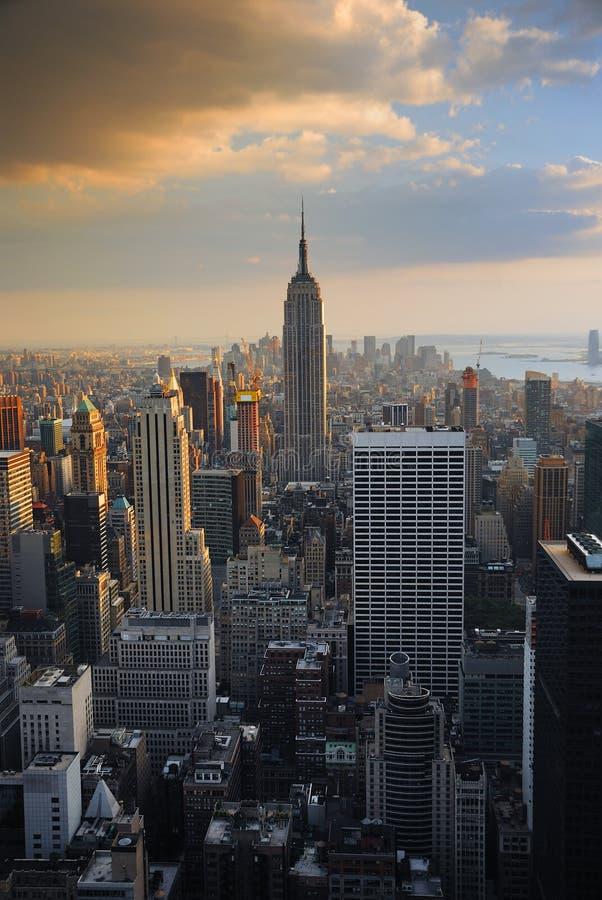 État d'empire de New York City photo stock