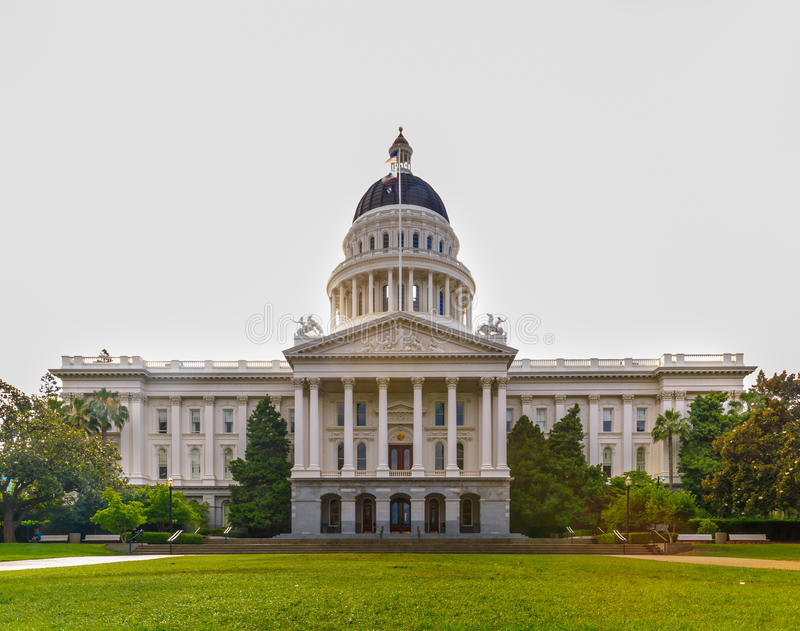 état de capitol de la Californie de construction photo libre de droits