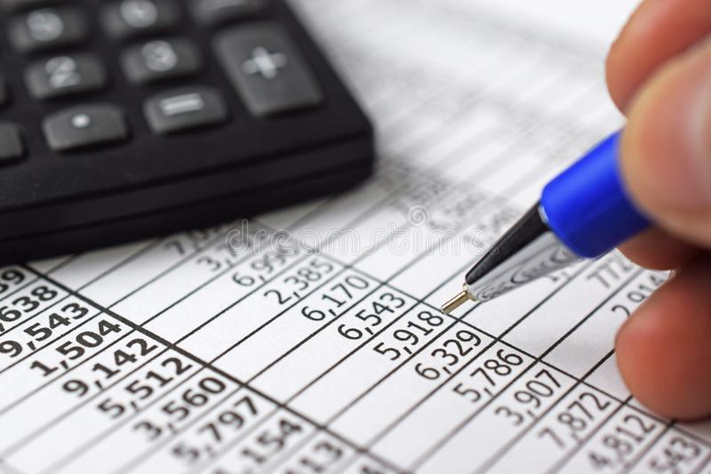 État de finances images stock