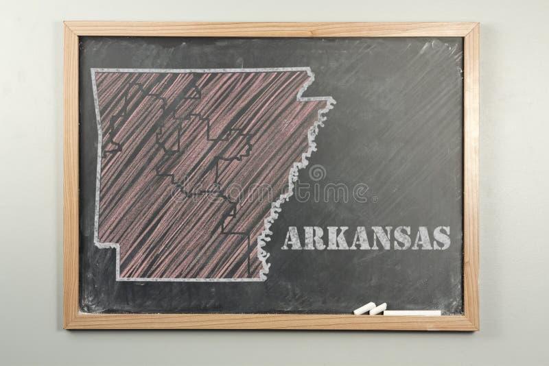 État de l'Arkansas images stock