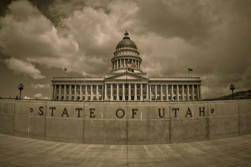 État de l'Utah photos stock