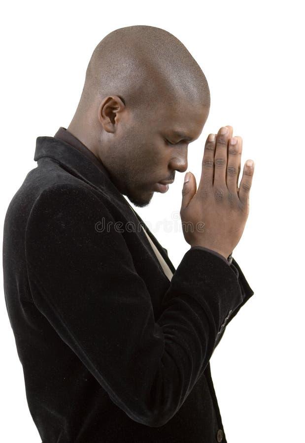 État de prière photographie stock