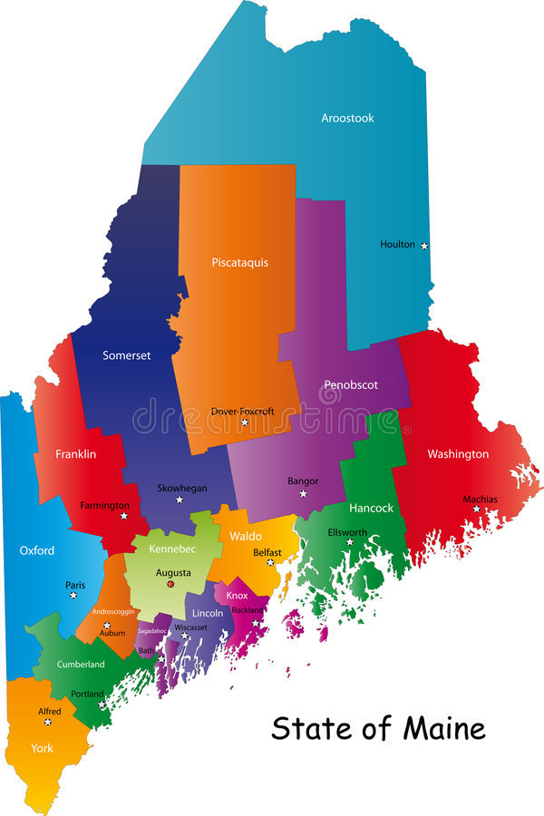 État du Maine, Etats-Unis