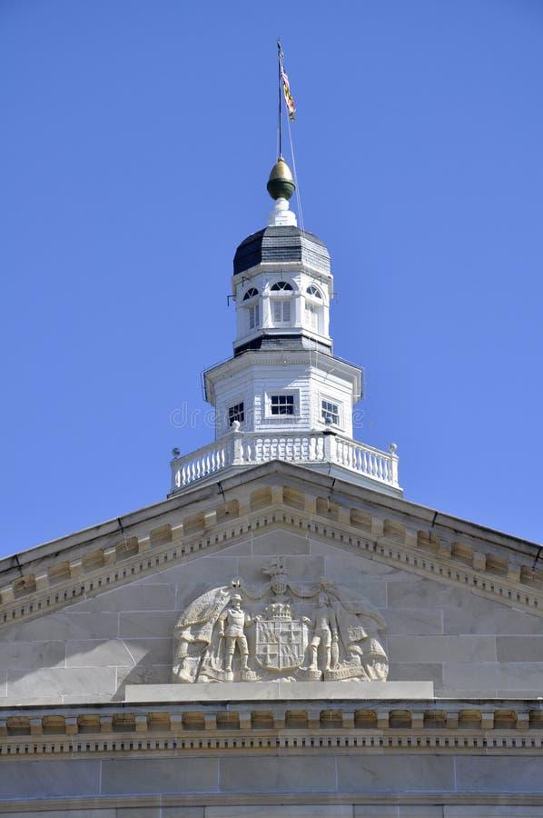 état du Maryland de maison d'annapolis photographie stock