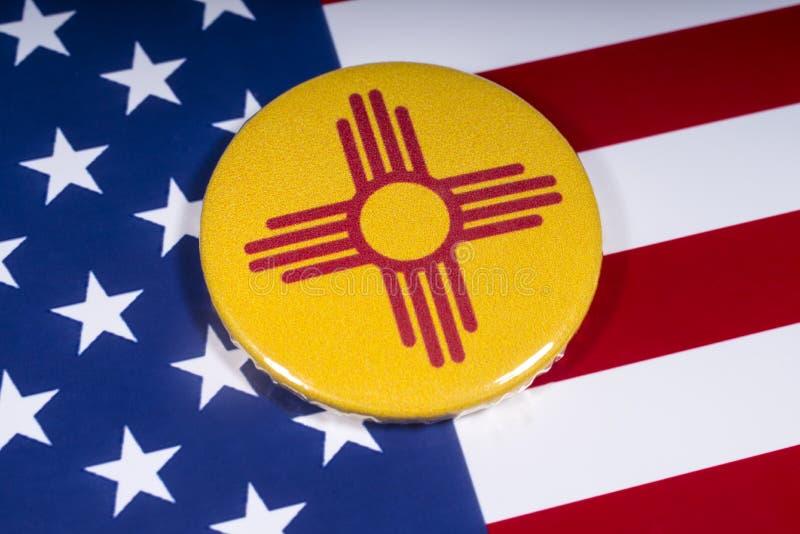 État du Nouveau Mexique aux Etats-Unis images stock