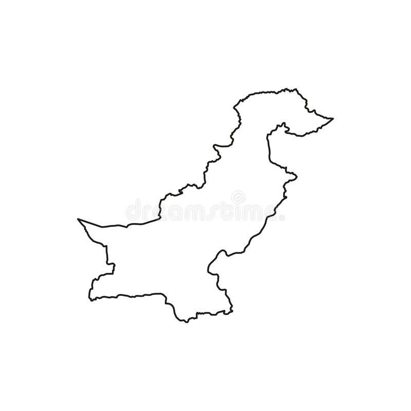 État islamique du Pakistan illustration libre de droits