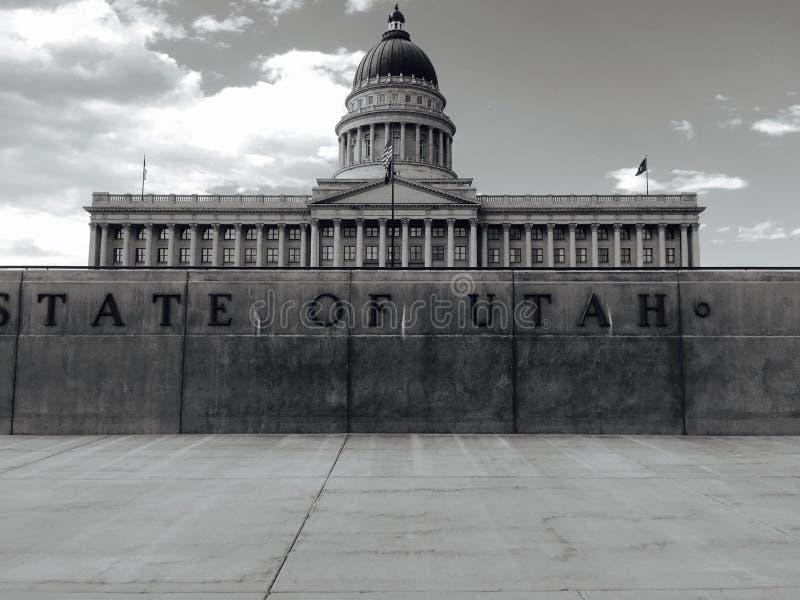 état Utah de capitol photos stock