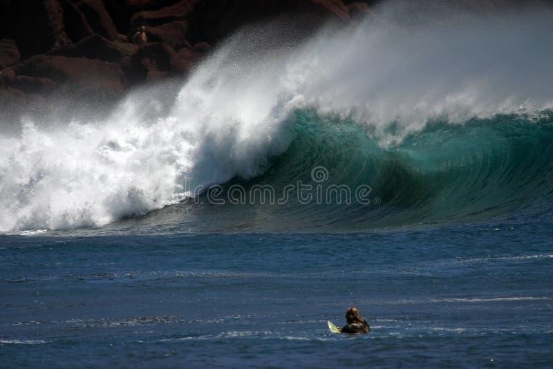 Étayer-cassez surfer photographie stock
