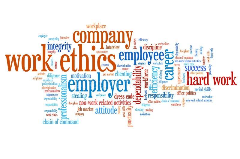 Éthique d'entreprise illustration de vecteur