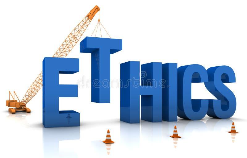 Éticas ilustração do vetor
