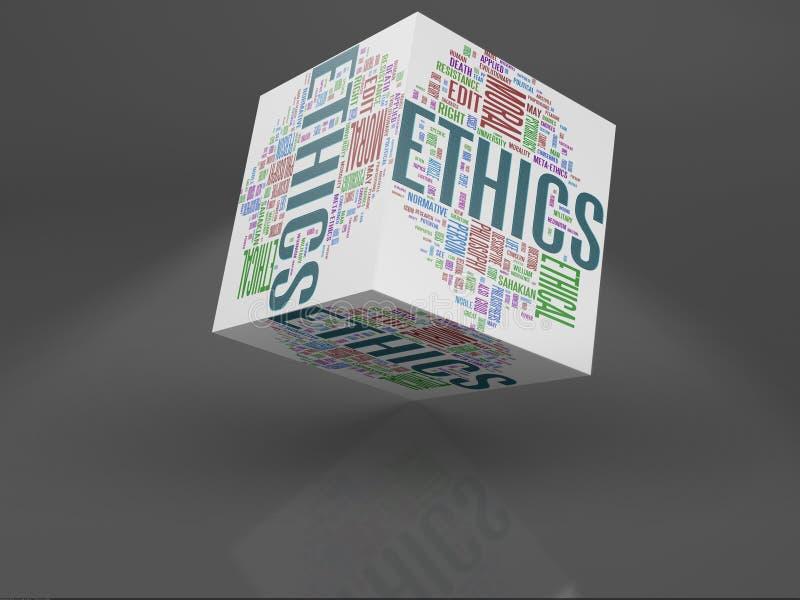 Éticas ilustração royalty free