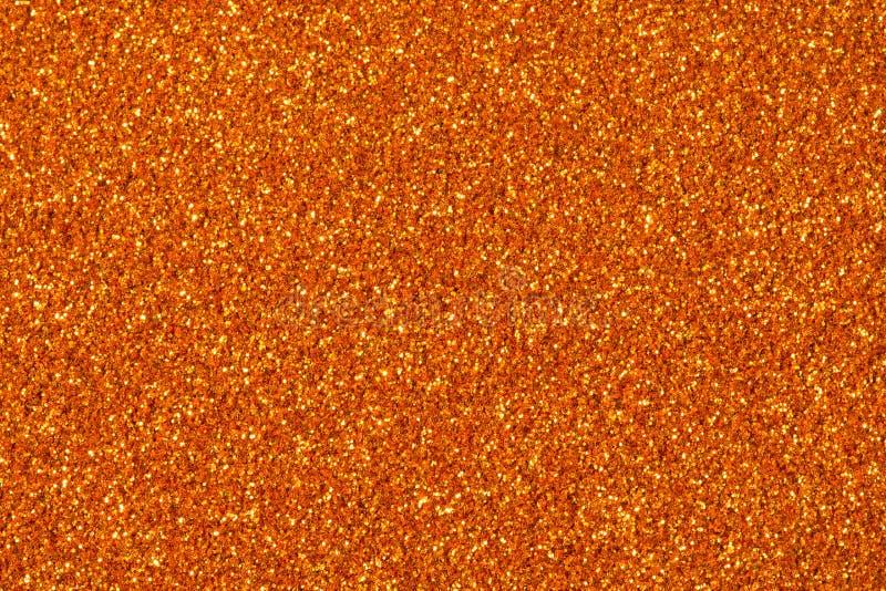 Étincelle orange de scintillement Fond pour votre conception photographie stock