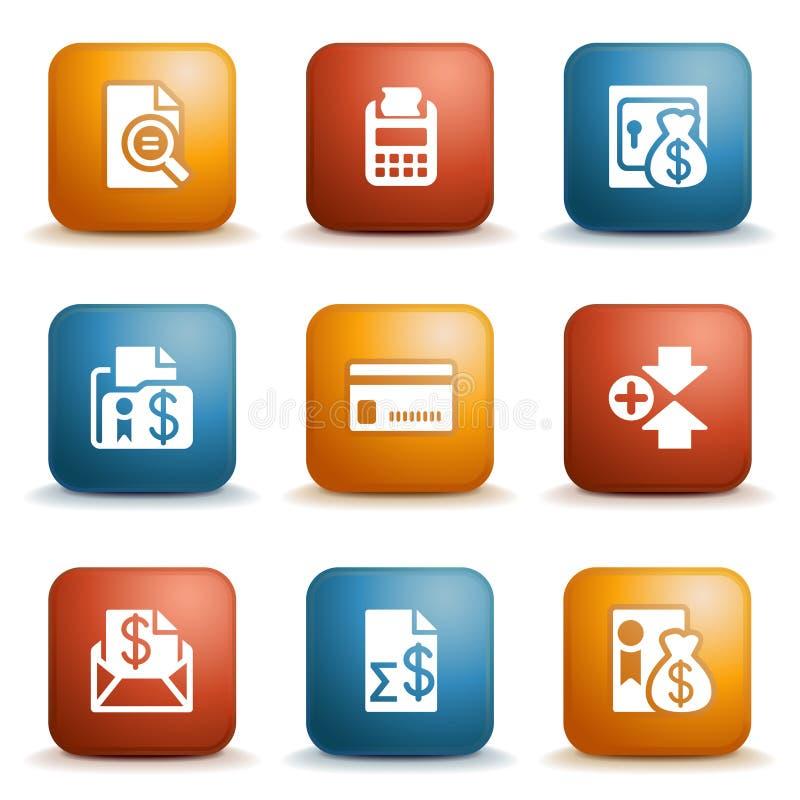 Étiquetez pour le site Web 14 illustration stock