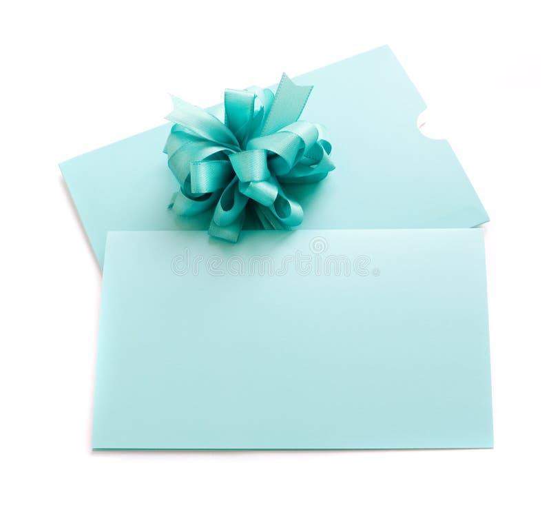 étiquette blanc de cadeau photographie stock libre de droits