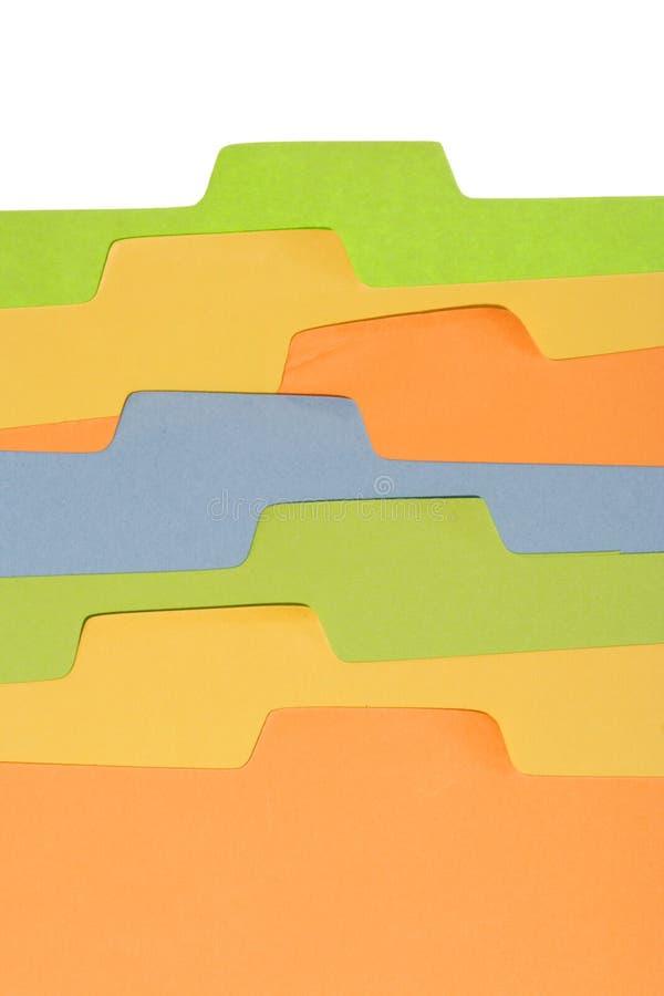 Étiquette colorée photos libres de droits