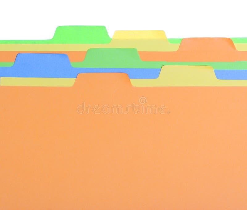 Étiquette colorée image libre de droits