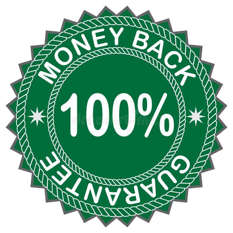 Étiquette de dos d'argent photo libre de droits