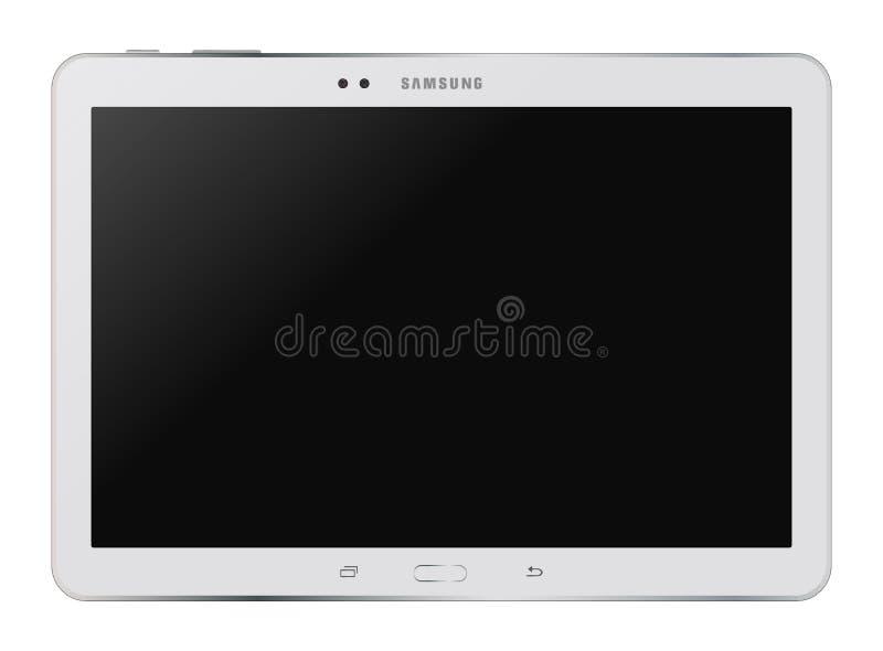 Étiquette de galaxie de Samsung pro illustration libre de droits