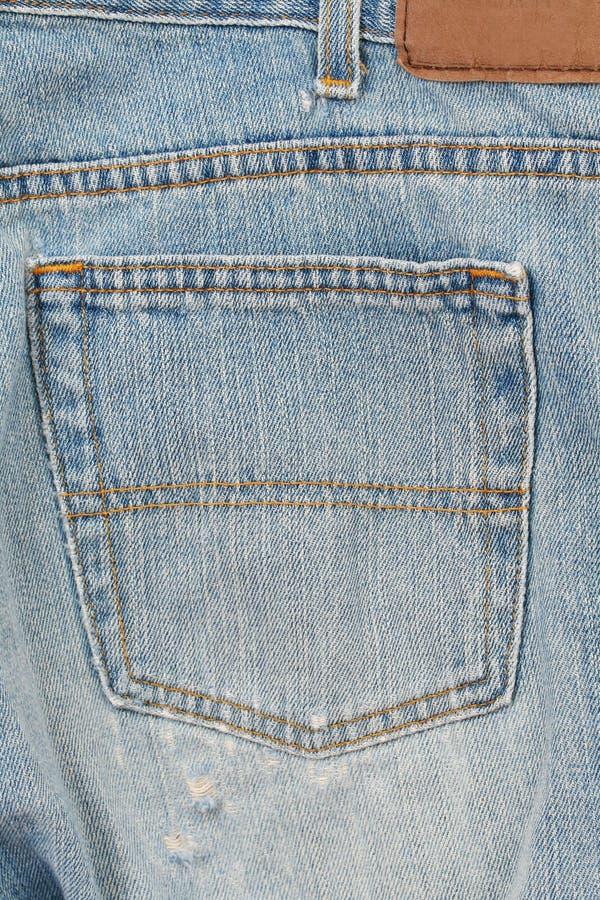Étiquette de jeans image stock