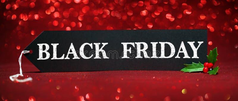 Étiquette de vente de Black Friday photos libres de droits