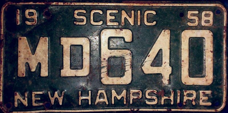 Étiquette de vintage image libre de droits