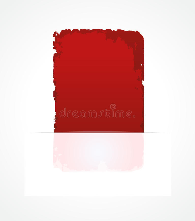 Étiquette rouge d'abrégé sur escompte de vente de vecteur illustration libre de droits