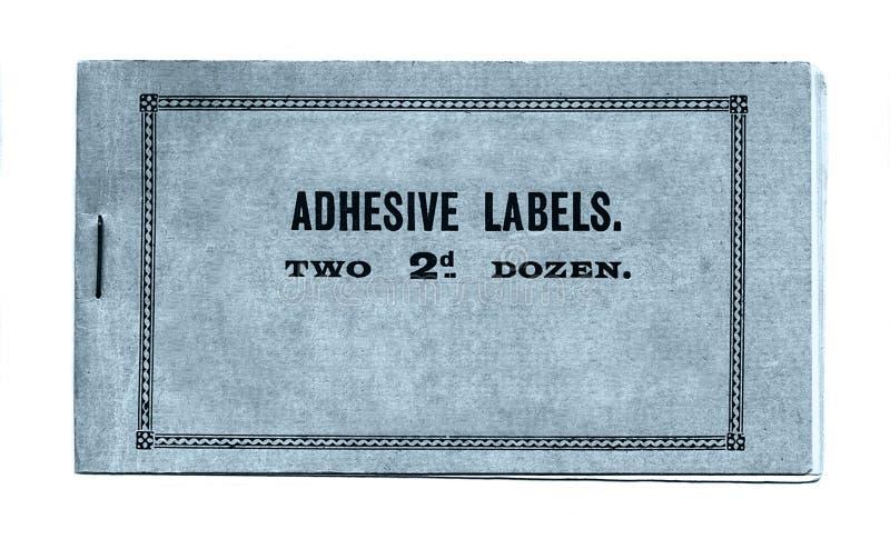 Étiquettes adhésives images libres de droits