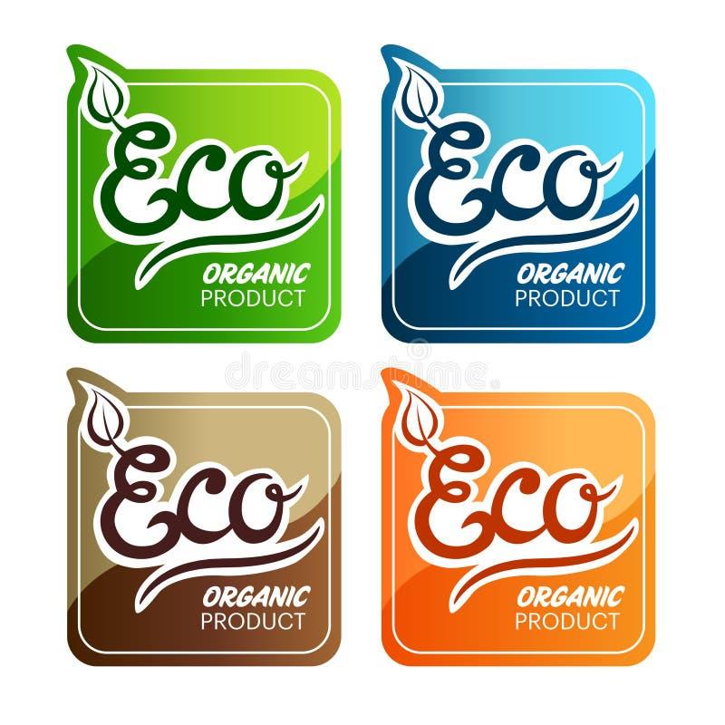 Étiquettes D Eco Photos libres de droits