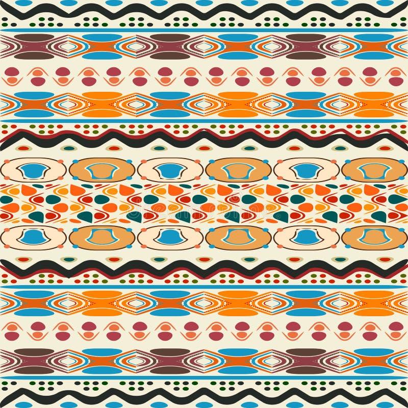 Étnico tribal stock de ilustración