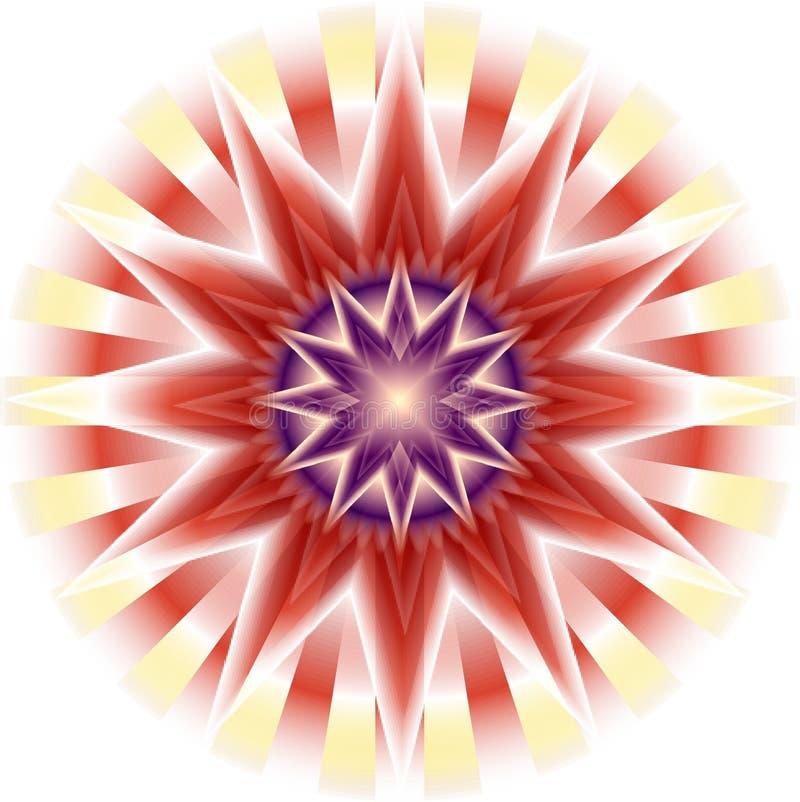 étoile brillante illustration stock